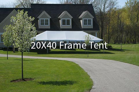 20X40 Frame Tent Archives - AAble Rents