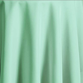 Abel rents offers linen rental in Ohio.  This imafge represents Aqua table cloth rentals in cleveland ohio