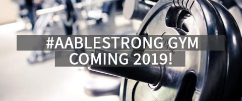 #AABLESTRONG GYM
