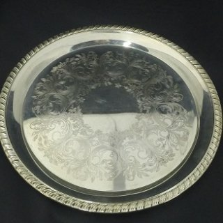 Silver Tray 10, 12 and 16″