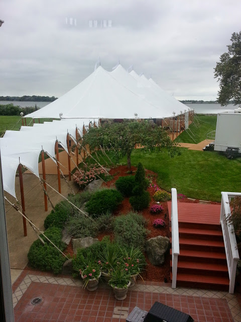 Sail Cloth Wedding Gallery Wave Marquee