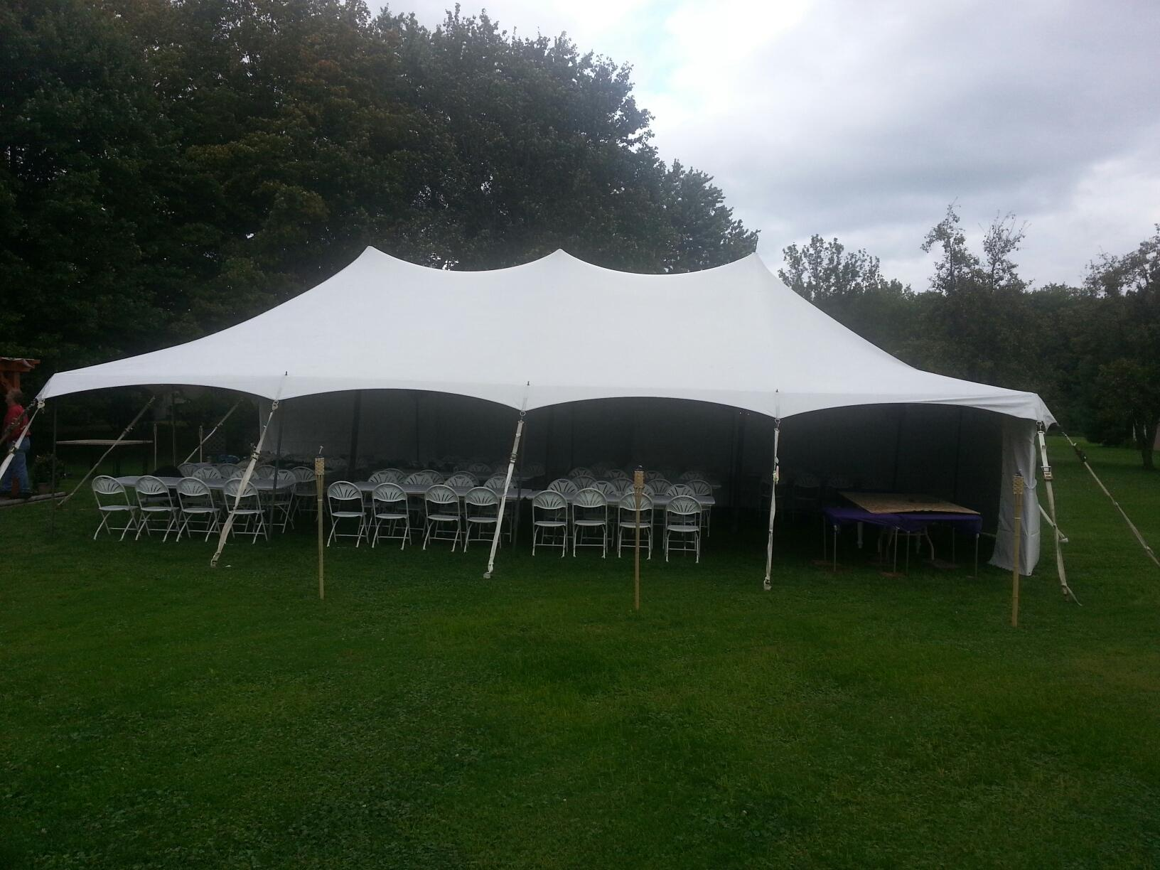 20x40 Epic Pole Tent 2