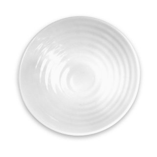 White Swirl Melamine Bowl 24oz